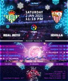 Real Betis  vs  Sevilla  02/01/12