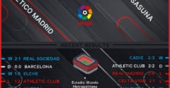 Atletico Madrid vs Osasuna